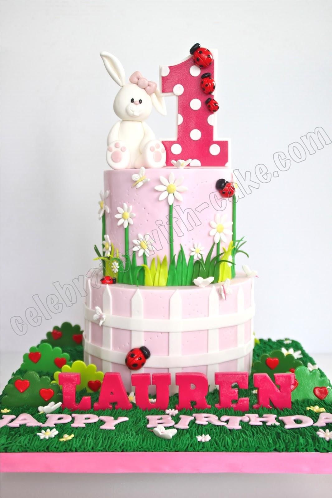 Bunny Cake Topper Singapore