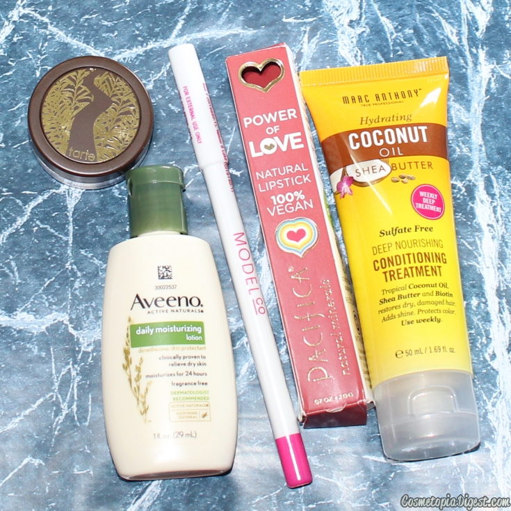 Here are the contents of my December 2015 Ipsy Glam Bag.