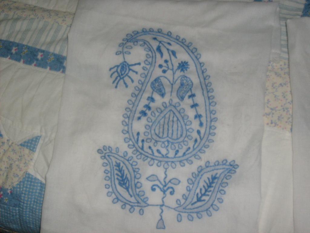 Elnesta chikan embroidery
