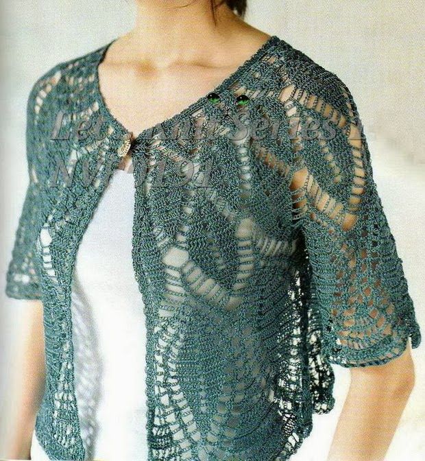 Crocheting Sweaters : Crochet Sweater Pattern - Gorgeous Womens Sweater