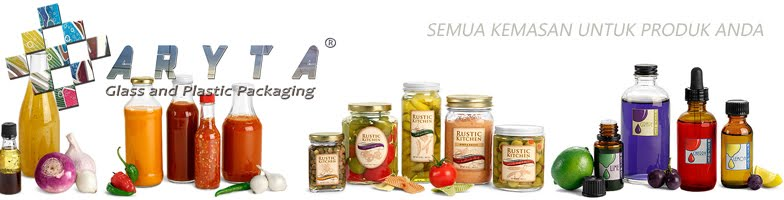 ARYTA PACKAGING - Suplier Botol Kaca & Plastik