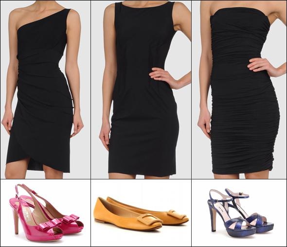 www.designandfashionrecipes.com by Cristina Dal Monte - Petite robe noire by Chiara Boni