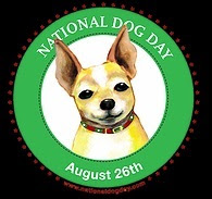 National Dog Day is August 26th