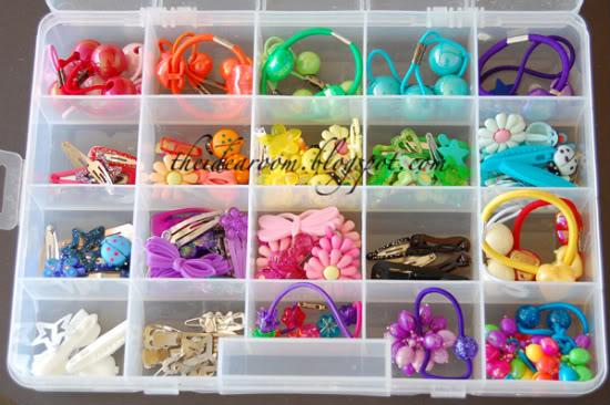 , Senoia,Georgia: Solution Sleuth :: Organizing Hair Accessories
