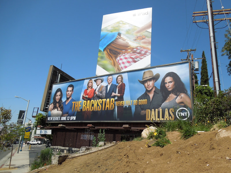 Dallas TNT bilboard