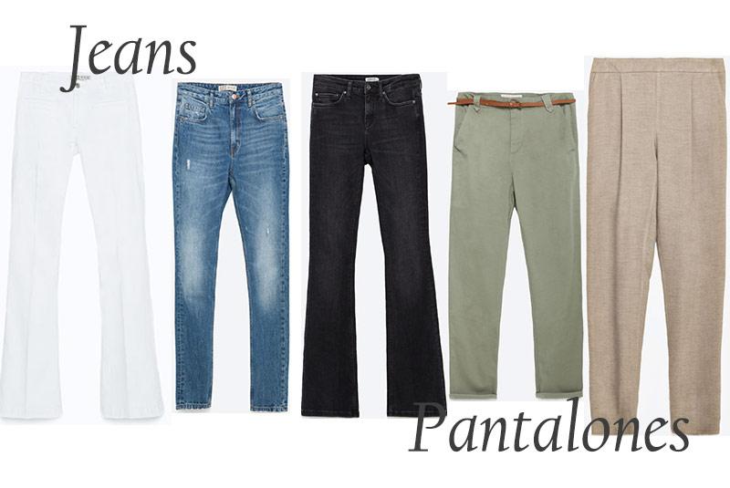 pantalones rebajas zara