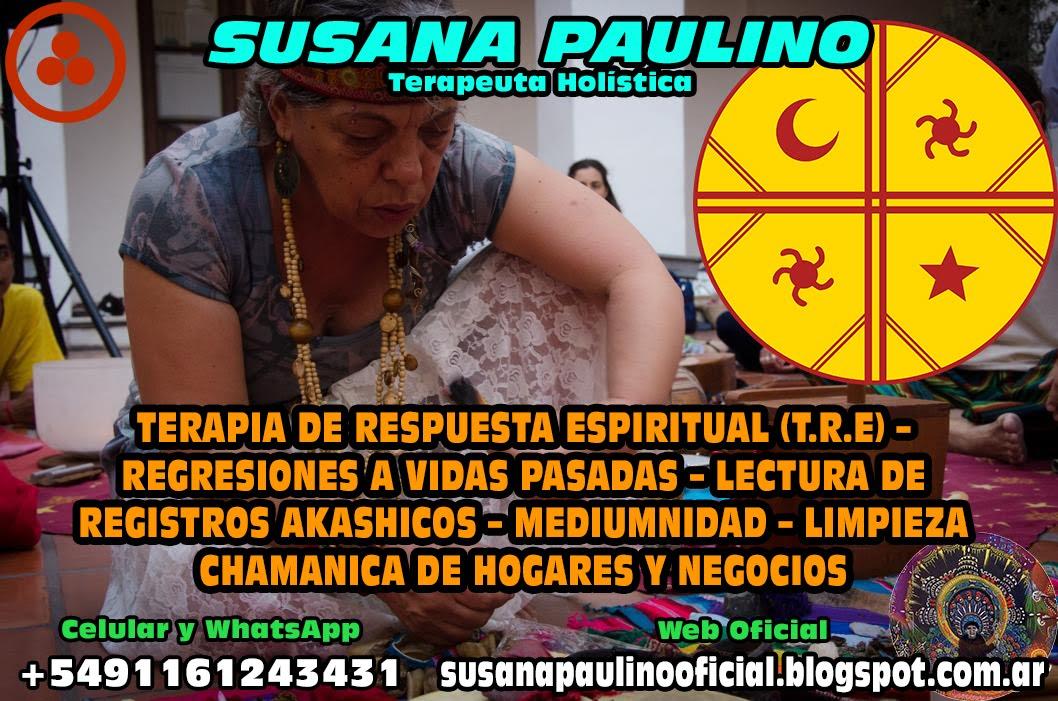 SUSANA PAULINO - TERAPIAS HOLISTICAS