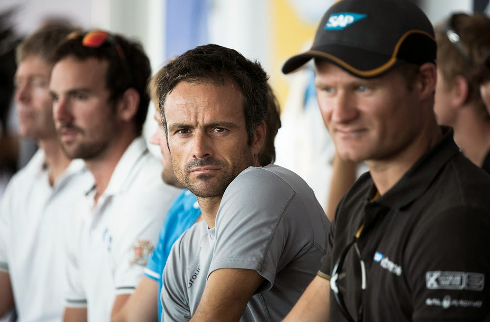 "Franck Cammas après les Extreme Sailing Series de Nice : ""On progresse bien, on apprend beaucoup"""