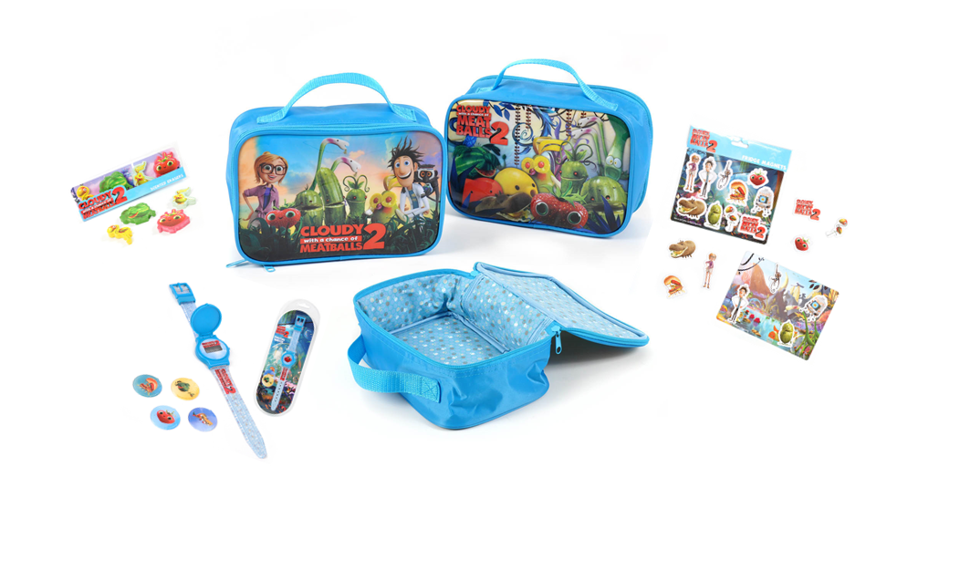 Cloudy with a Chance of Meatballs 2 Lunchbox Giveaway