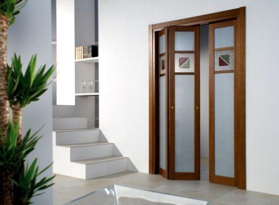 Puertas plegables portones puertas de madera - Puertas de madera plegables ...