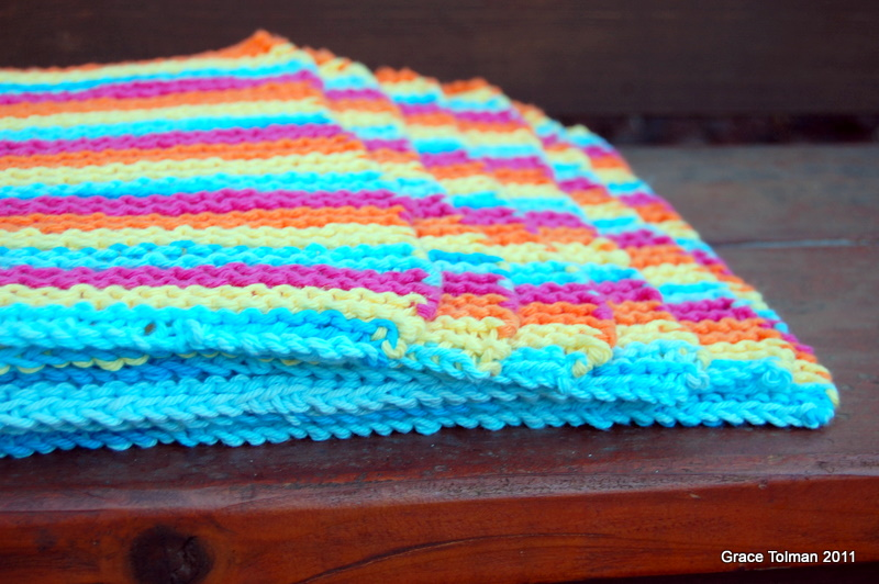 In My Shoes Knitted Placemat Set