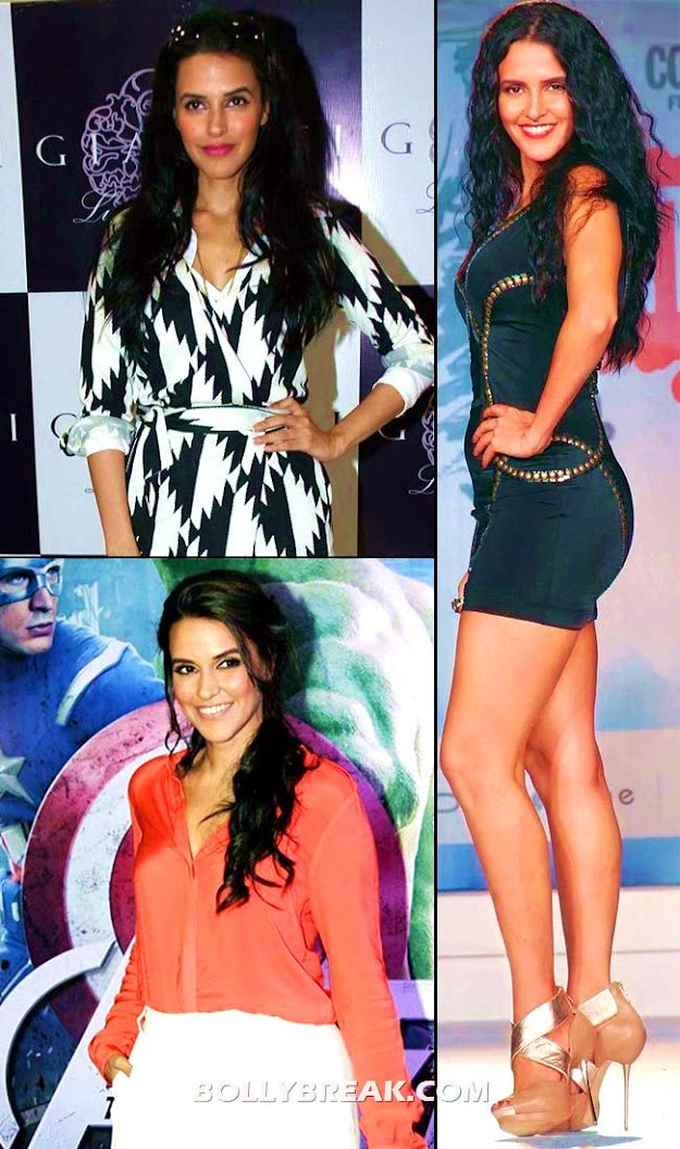neha dhupia before and after gaining back some weight - (5) -  Bollywood Babes no longer size zero