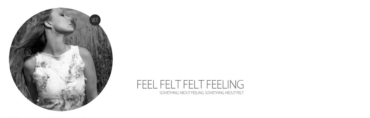 FEEL FELT FELT FEELING