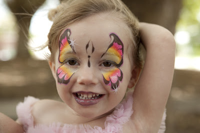 3rd Fairy Face Painting Birthday Party