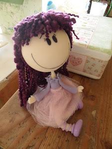 Muñeca infantil de porcelana fria