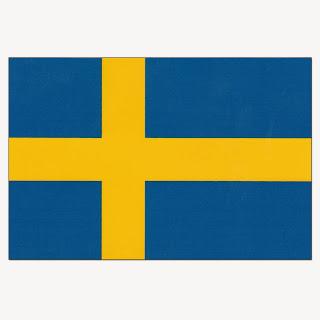 Gambar Bendera Negara Swedia 2