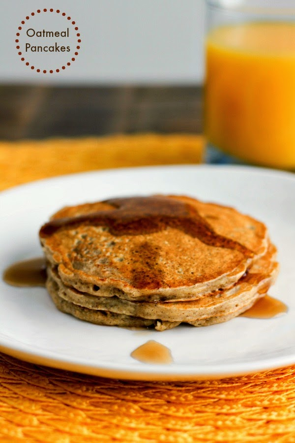 Oatmeal Pancakes | The Chef Next Door