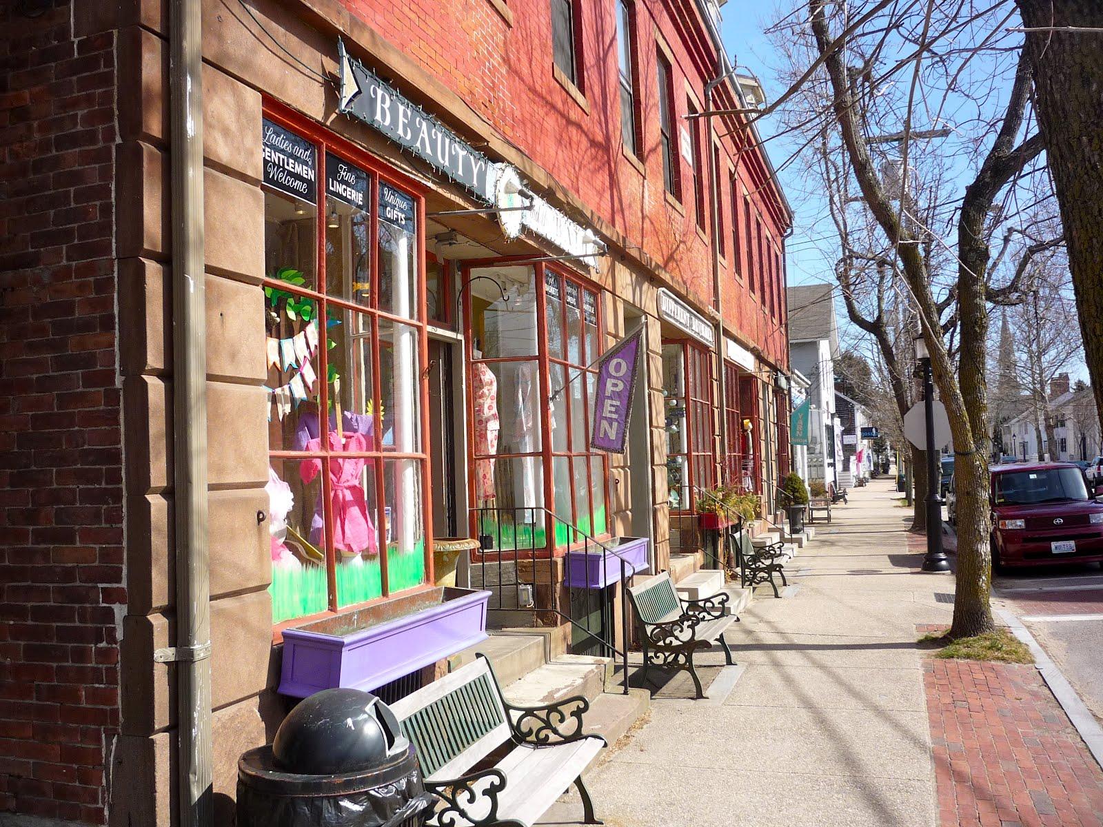 Bristol Rhode Island Shops