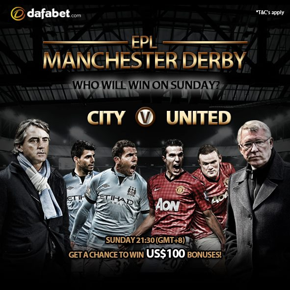 You can win as much as US$100 Bonuses! Join Dafabet Sportsbook and Win!