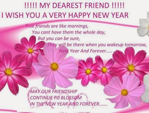 Meaning Happy New Year Messages For Friendship 2015