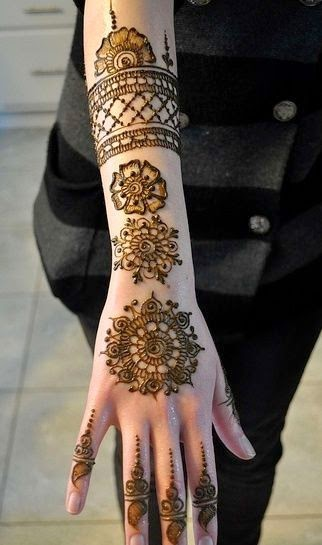 Simple Henna Mehendi Design