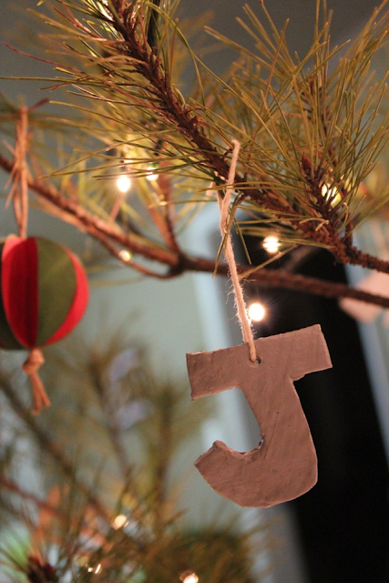 diy salt dough ornament