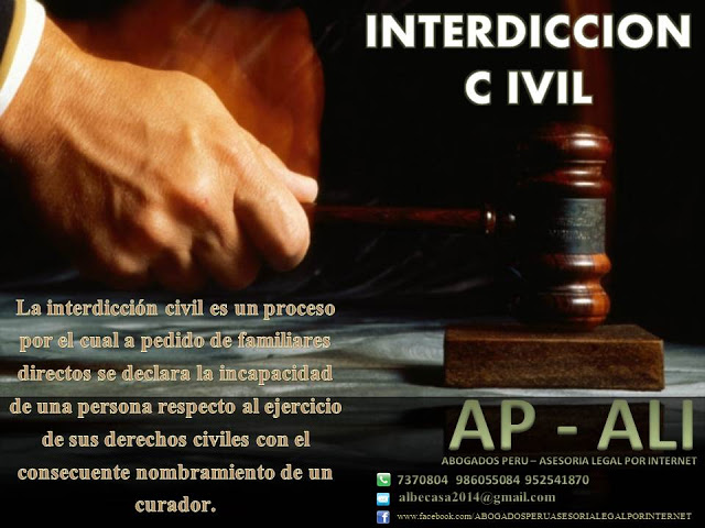 INTERDICCION CIVIL