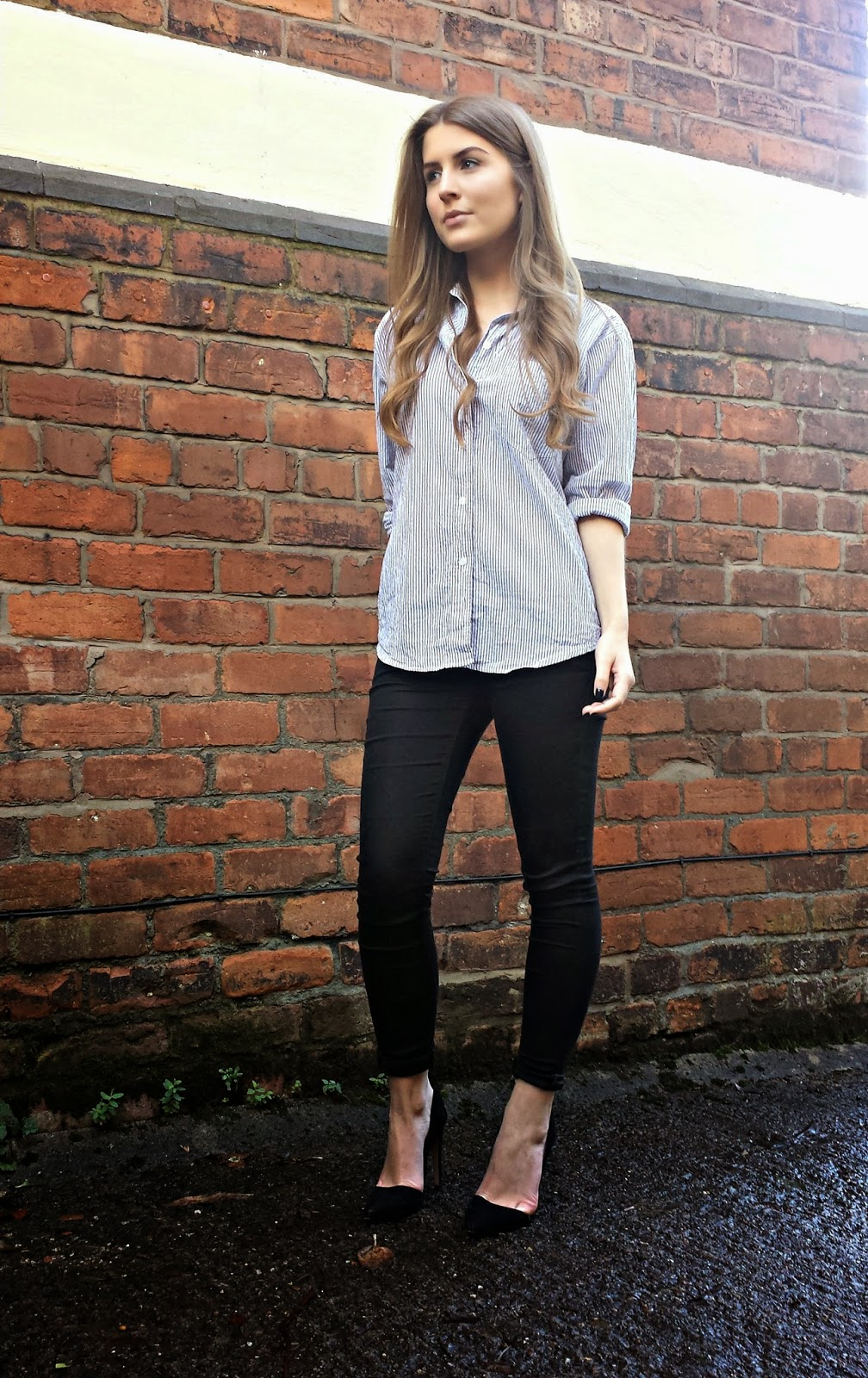Style trunk outfit oversized shirt with skinny jeans for Skinny jeans with shirt