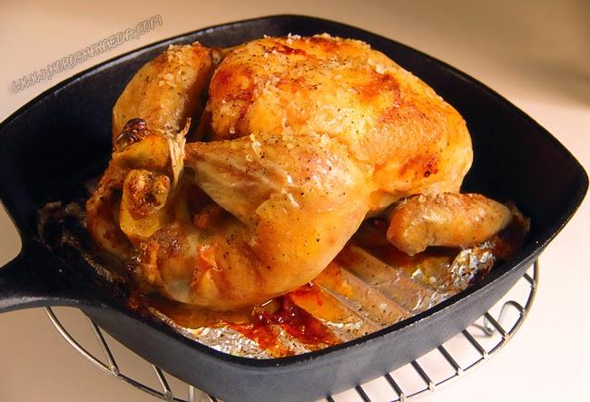 Идеальная запечённая курица