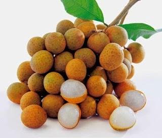 manfaat buah kelengkeng, khasiat buah kelengkeng, info buah kelengkeng