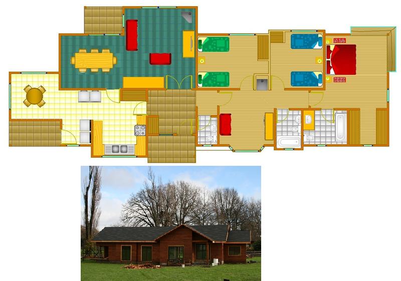 Planos de casas de madera gratis motorcycle review and - Planos casa de madera ...