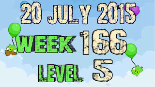 Angry Birds Friends Tournament level 5 Week 166