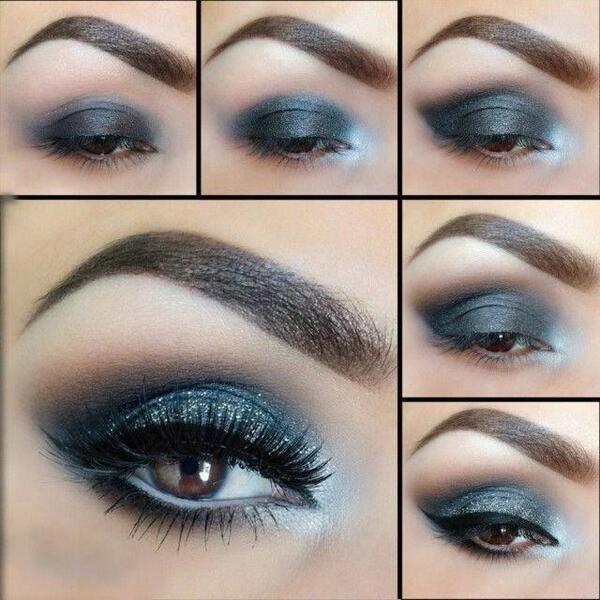 no te olvides de aplicarte mascara ya que te harn ver los ojos mas grande y lograras un acabado en el maquillaje perfecto y una mirada mas profunda