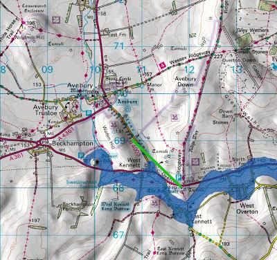 Silbury Hill - post glacial flooding