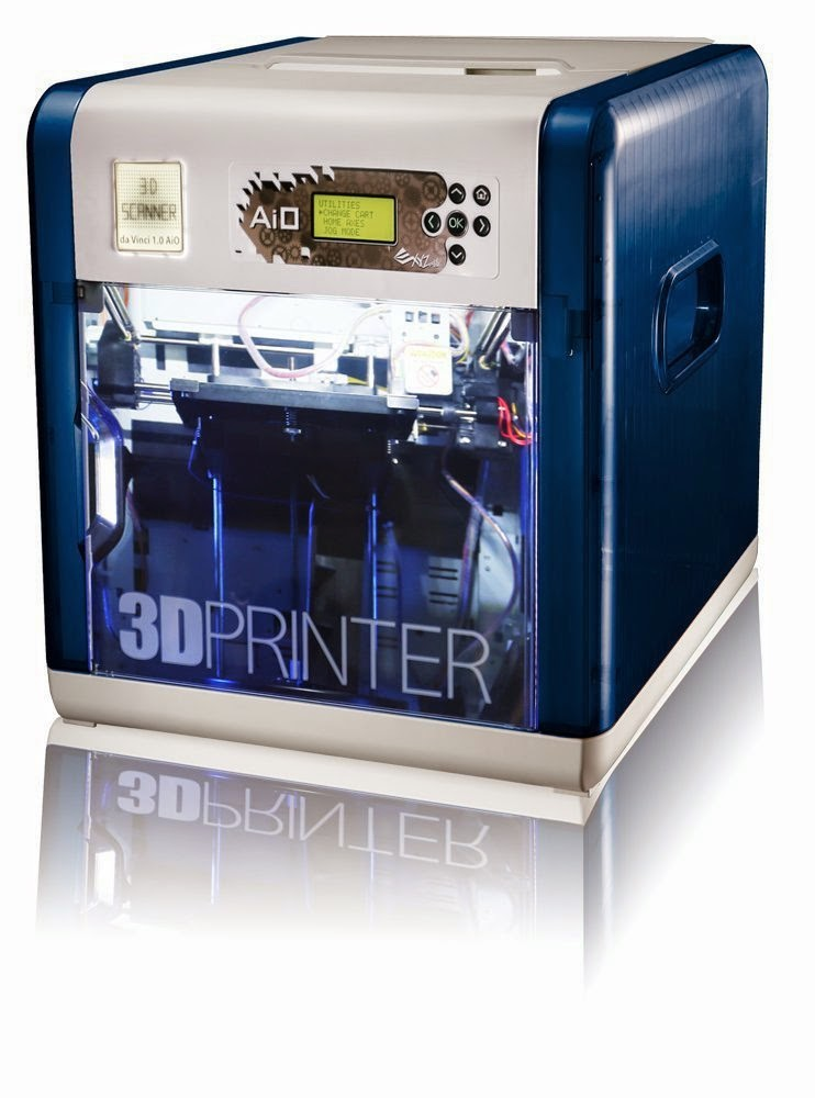 high tech info offers xyz da vinci imprimante 3d avec scanner int gr. Black Bedroom Furniture Sets. Home Design Ideas