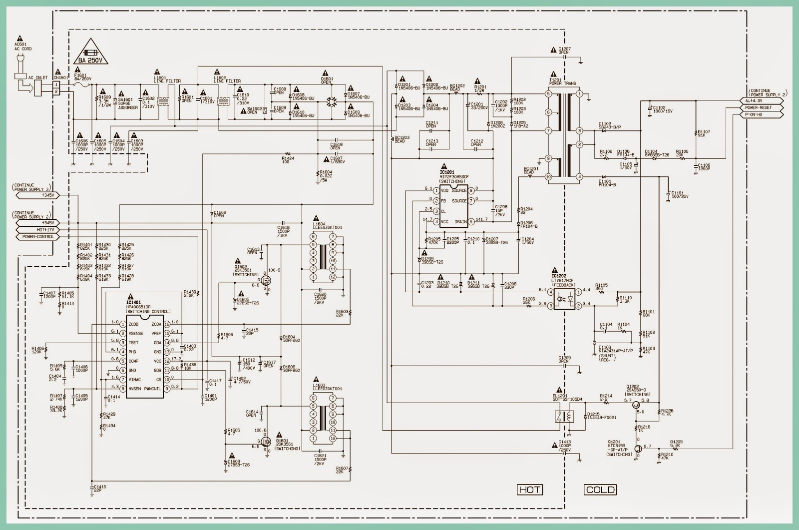Magnavox Sylvania And Emerson 40 Inch Lcd Tvs Service Mode Plug Wiring Diagram Circuit Are Not Defective Before You Connect The Ac To Power Supply Otherwise It May Cause Some Components In Fail
