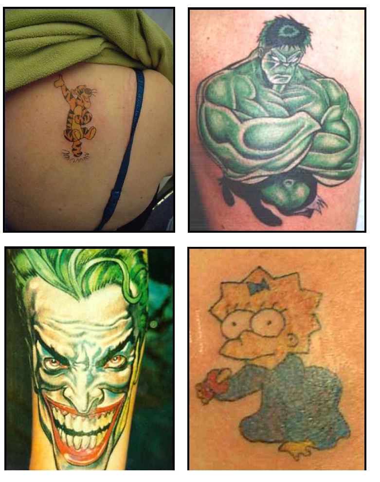 cartoon tattoos ideas flower tattoo design ideas with beauty fitness. Black Bedroom Furniture Sets. Home Design Ideas