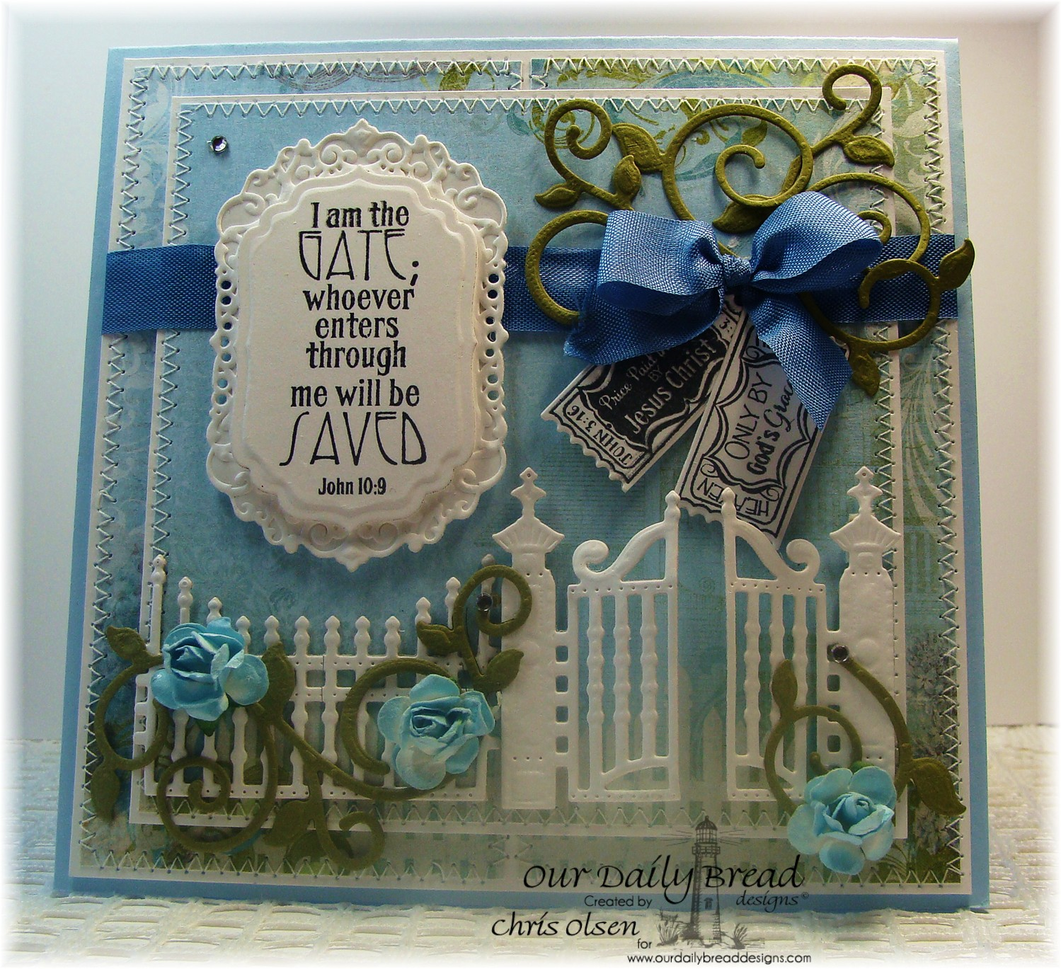 Stamps - Our Daily Bread Designs Admit Three, ODBD Custom Gilded Gate Die, The Gate, ODBD Custom Mini Tags Dies