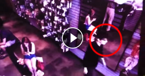 Freaky Vampire Footage Of A Man Without A Reflection In The Mirror Goes Viral!