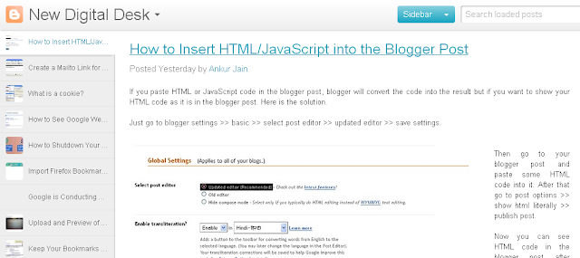 View Your Blog in a Different Layout 4