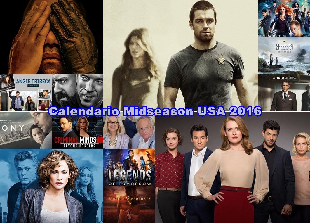 Calendario Estrenos Regresos y Comienzos de Series en EEUU Midseason 2016