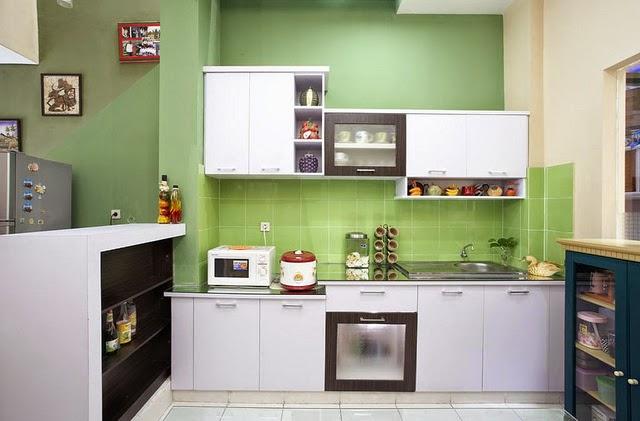 Interior dapur rumah minimalis 7