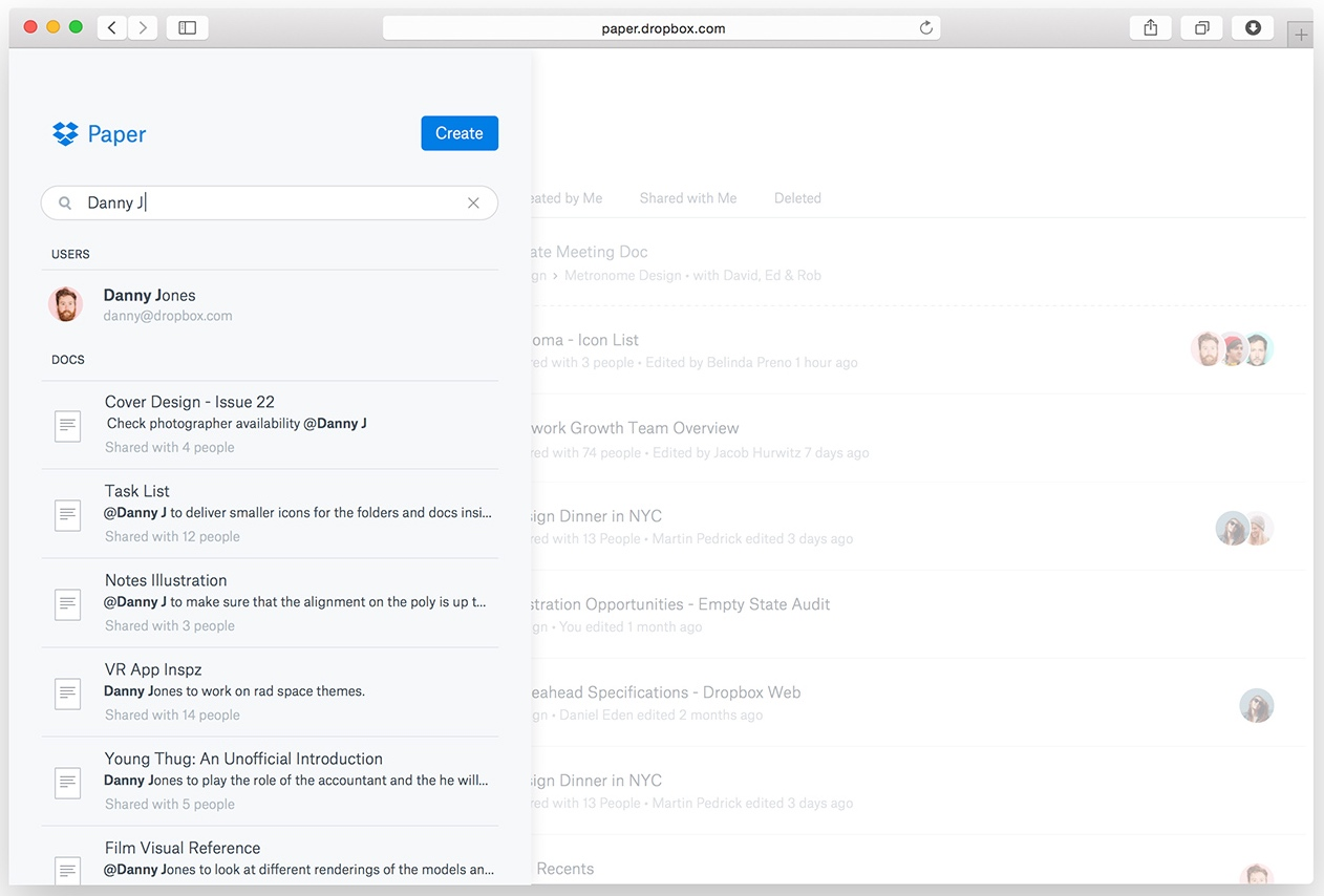 Dropbox Announces Paper A Google Docs Competitor
