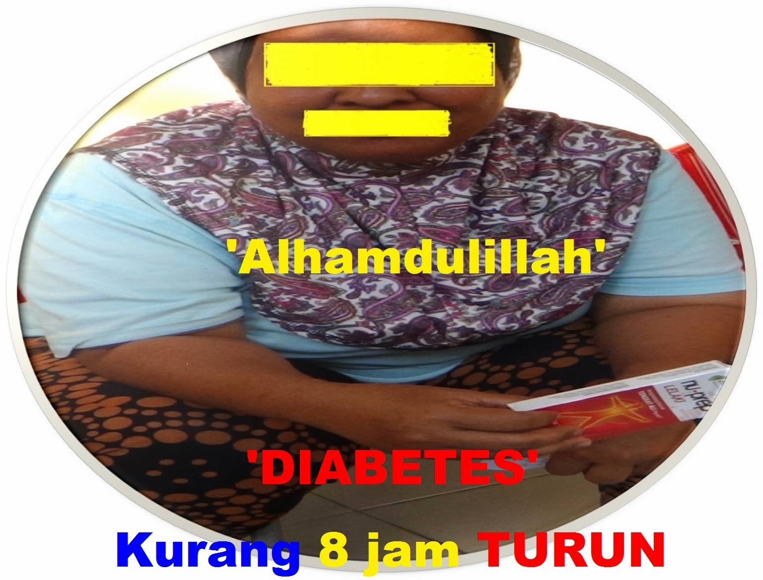 Kencing Manis TURUN kurang dari 8 jam - Diabetes Reducer DROPPED  'LESS THAN 8 Hours'