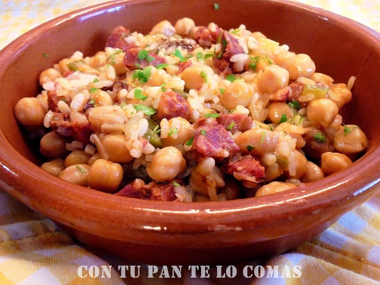 Garbanzos de bote con arroz cocinar en casa es for Cocinar garbanzos con chorizo