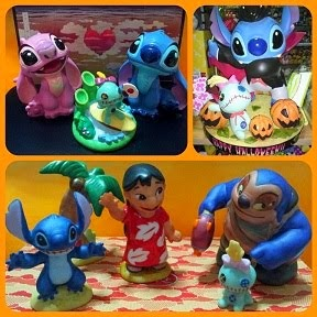 Japan Disney Store / Kato Kogei Lilo & Stitch Figures Set