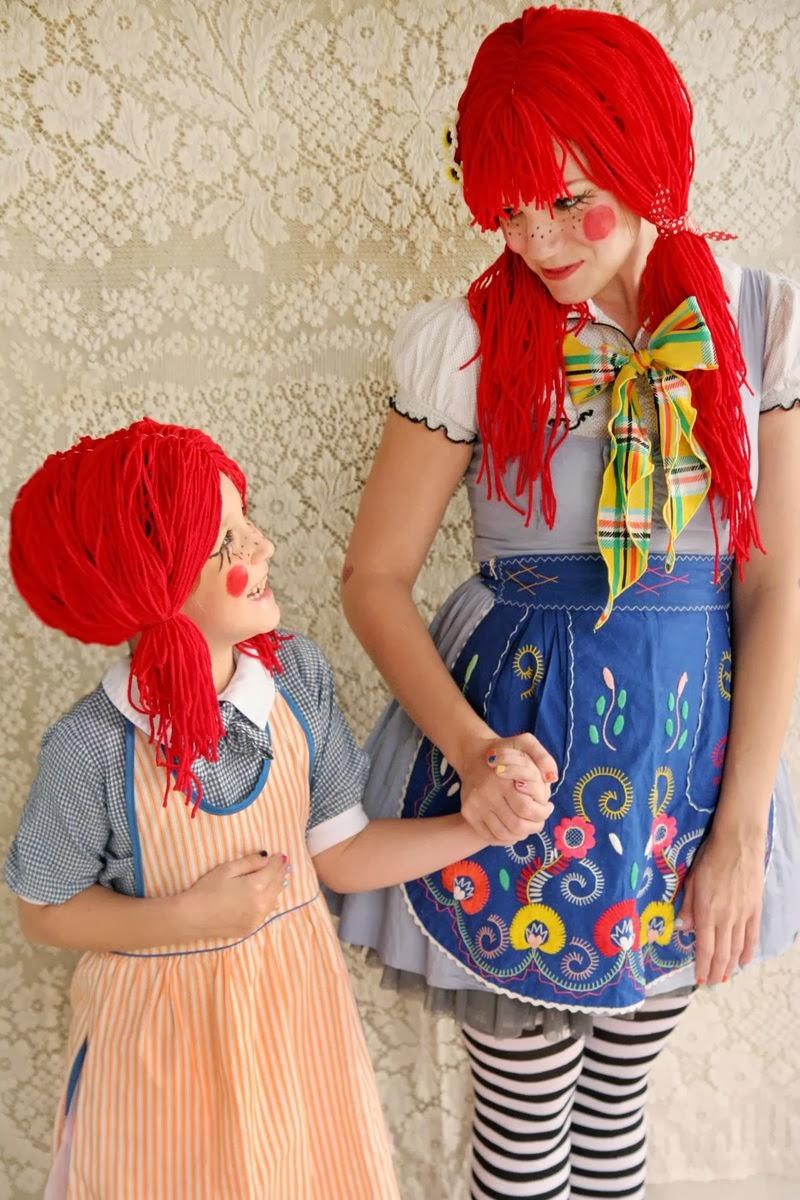 DIY Disfraz muñeca