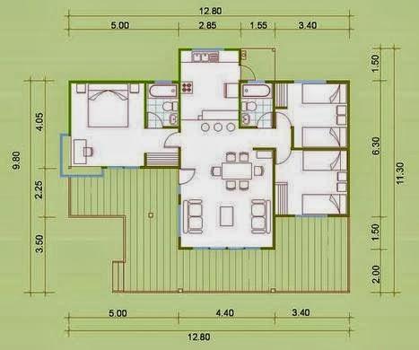 Planos Casas Modernas Como Dibujar Planos De Casas Gratis