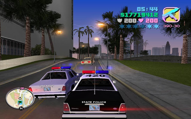 Grand theft Auto Vice City Screenshots