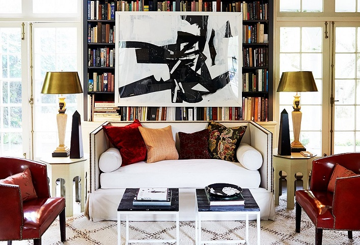 mix and chic home tour inside the home of home. Black Bedroom Furniture Sets. Home Design Ideas